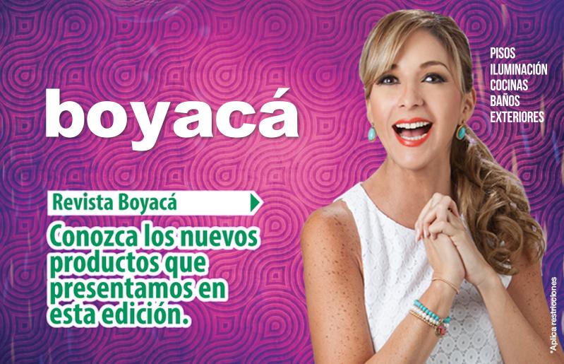 Revista Boyacá Agosto