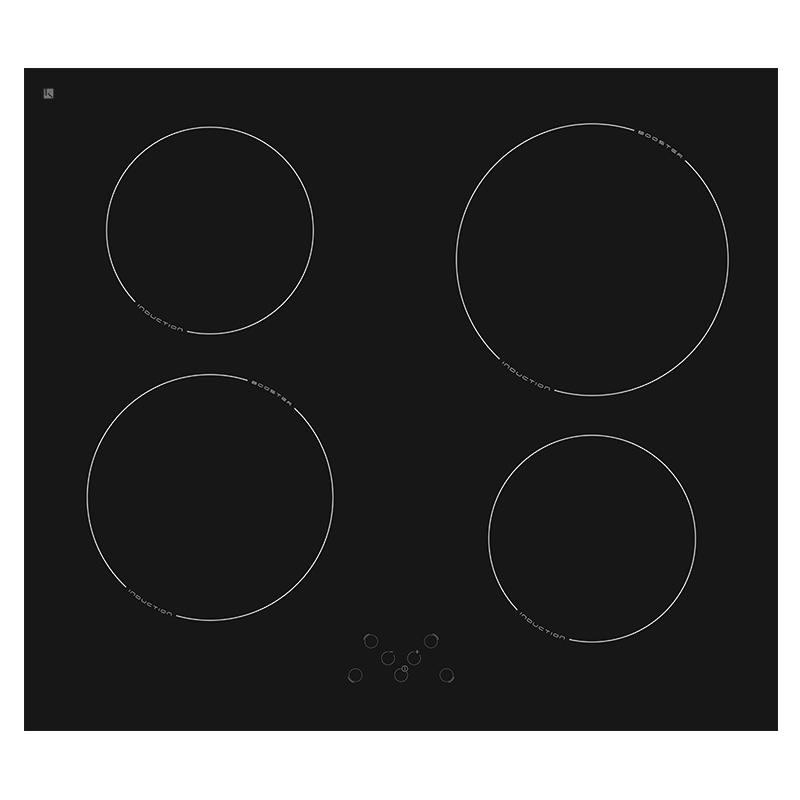 Cocinas de vitrocer mica de inducci n 60cms almacenes for Cocinar induccion