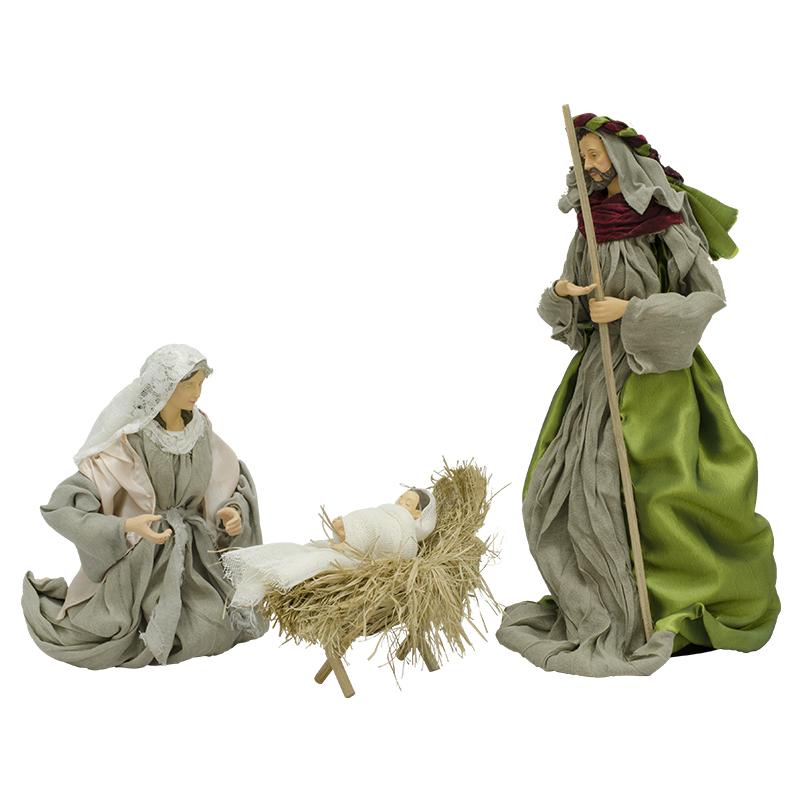 94770e17052 Nacimiento Sagrada Familia 40cm 3 Piezas