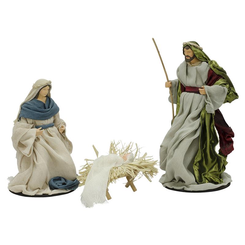2ebb9f4ef70 Nacimiento Sagrada Familia 25cm en Set de 3 Piezas