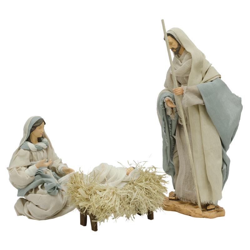 d4a7f6ff0c2 Nacimiento Sagrada Familia en Set de 3 Piezas