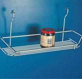Repisa Multipropósito para Tubo de Cocina Cromado
