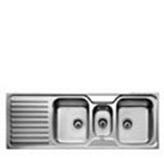 Fregadero Classico 2.5 Pozos de Acero Inoxidable Teka