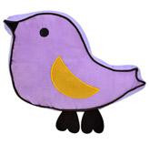 Cojín Lila Hummingbird