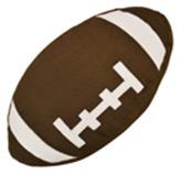 Cojín de Microfibra Futbol Americano 45x45cm