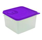 Cubo Microfrio Traslucido Morado