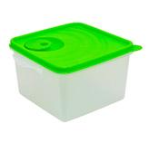 Cubo Microfrio Traslucido Verde