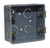 Caja Cuadrada de PVC de 4x4