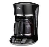 Cafetera Programable Negra de 12 Tazas Oster