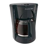 Cafetera Negra 12 Tazas Proctor Silex