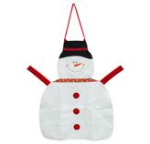 Delantal  Snowman Blanco