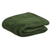 Cobija Organik Verde Throw