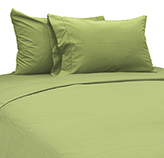 Sábana Verde Olivo Cotton Touch Chateau