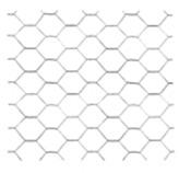 Malla Galvanizada Hexagonal