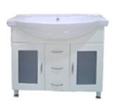 Mueble De Baño Con Lavamanos y 3 Cajones en el medio 100x51cm