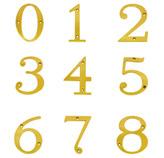 Número en Oro