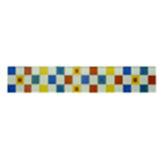 Listelo de Vidrio Cuadro Multicolor 5x30cm