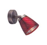 Lámpara decorativa de pared, en Rojo/Azul/Naranja resistente al calor