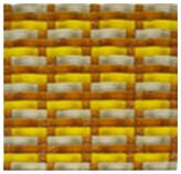 Mosaico de Vidrio Amarillo Beige 32.3x28cm (.09) 0.99