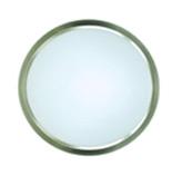 Plafón de Vidrio con Diseño Circular Bronce Antiguo