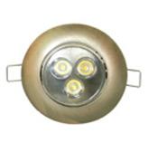 Ojo de buey LED Plano Luz Tenue 3w