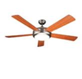 Ventilador para techo con lámpara y control remoto 52