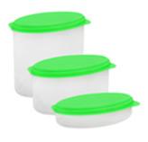 Vizyionware Transparente con Tapa Verde
