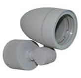 Lámpara de Pared Móvil para Exterior Aluminio Oxidal