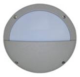Lámpara de pared para exterior Aluminio Oxidal Media Luna en Mate
