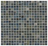 Mosaico de Vidrio Azul Marmol 32.7x32.7cm (.107)