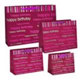 Funda de Regalo Happy Birthday Rojo