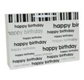 Funda de Regalo Happy Birthday Blanco