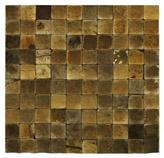 Mosaico Coconut Cuadros Pequeños 30x30cm