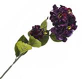 Flor Hortensia Grande Lila