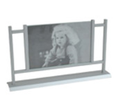 Porta Retrato de Aluminio para Mesa