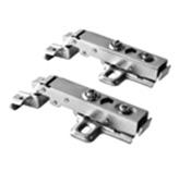 Bisagra Clip On Hidráulica para Marco de Aluminio de 105º
