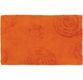 Alfombra con Diseños de Círculos Naranja