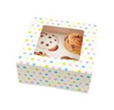 Caja Sweet Surprise para 4 Cupcake en Set de 2 Piezas Daisy Darcy