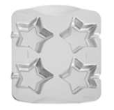 Molde para Paletas de Galletas Estrella x4 Wilton