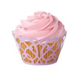 Envolturas Swirl Purple  para Cupcake  en Set de 18 Piezas Wilton