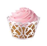 Envolturas Swirl Pearl para Cupcake  en Set de 18 Piezas Wilton