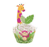 Envoltura Jungle para Cupcake  Wilton