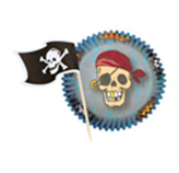 Pirutin Pirate en Set de 24 Piezas Wilton