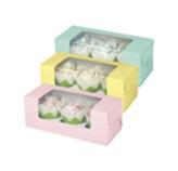 Caja Flor para Cupcake x 3 en Set de 3 Piezas Wilton