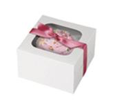 Caja Blanca para Cupcake en Set de 3 Piezas Wilton
