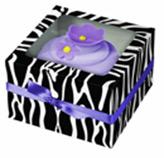 Caja Zebra para Cupcake en Set de 3 Piezas Wilton