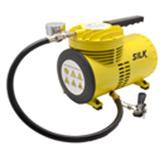 Mini Compresor de Aire  de 1/4HP  110v Silk