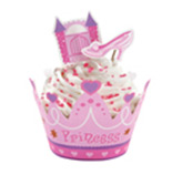 Envolturas Princess para Cupcake en Set de 12 Piezas Wilton