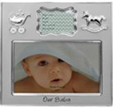 Porta Retrato con Etiqueta  para Llenar Our Baby 18.5x18.5cm  Concepts