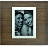 Porta Retrato Zebrano 20x20cm Concepts